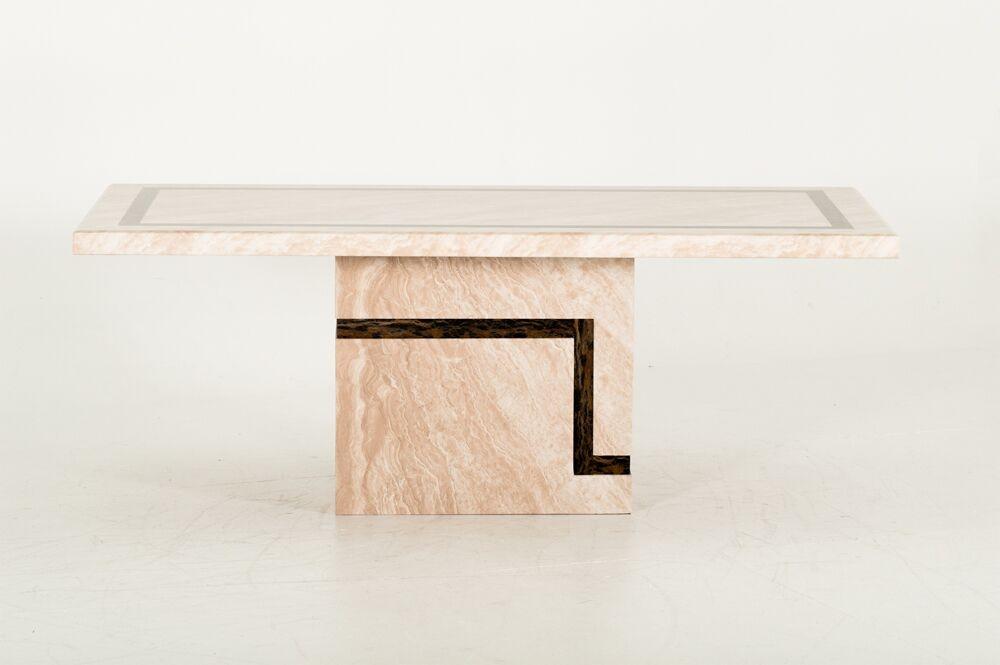 Masa din marmura Filippo Cream L160xl90xH755 cm