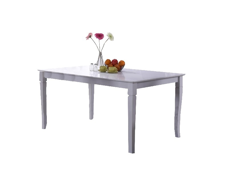Masa din MDF si furnir Colette White, L150xl90xH74cm imagine