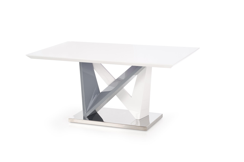 Masa din MDF si metal Cortez, L160xl90xh76 cm poza