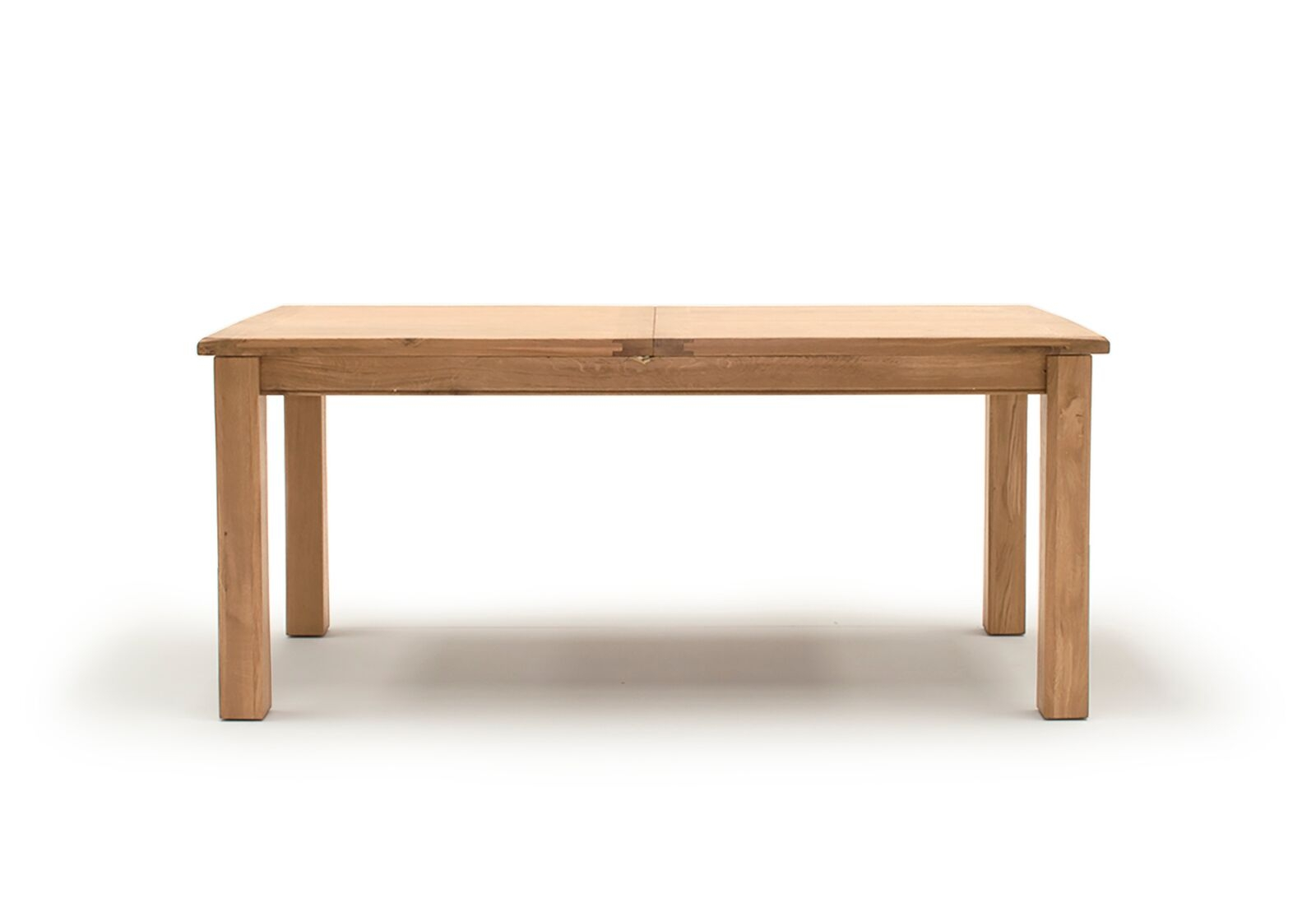 Masa extensibila din lemn de stejar si furnir Breeze Oak L140-180xl85xH77 cm