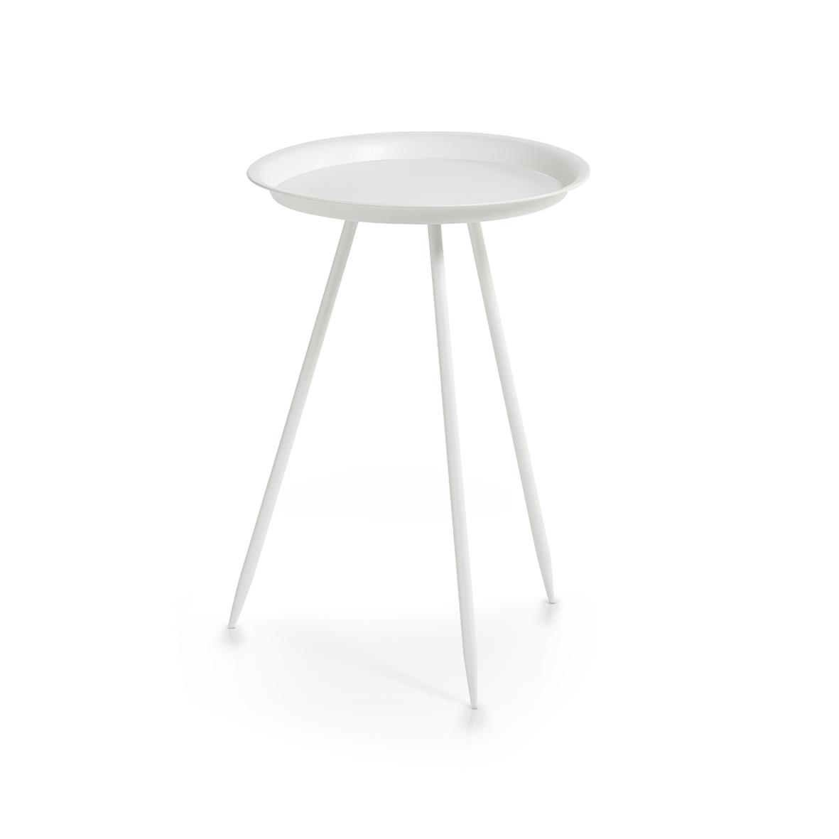 Masuta de cafea Space Metal White O 295xH44 cm