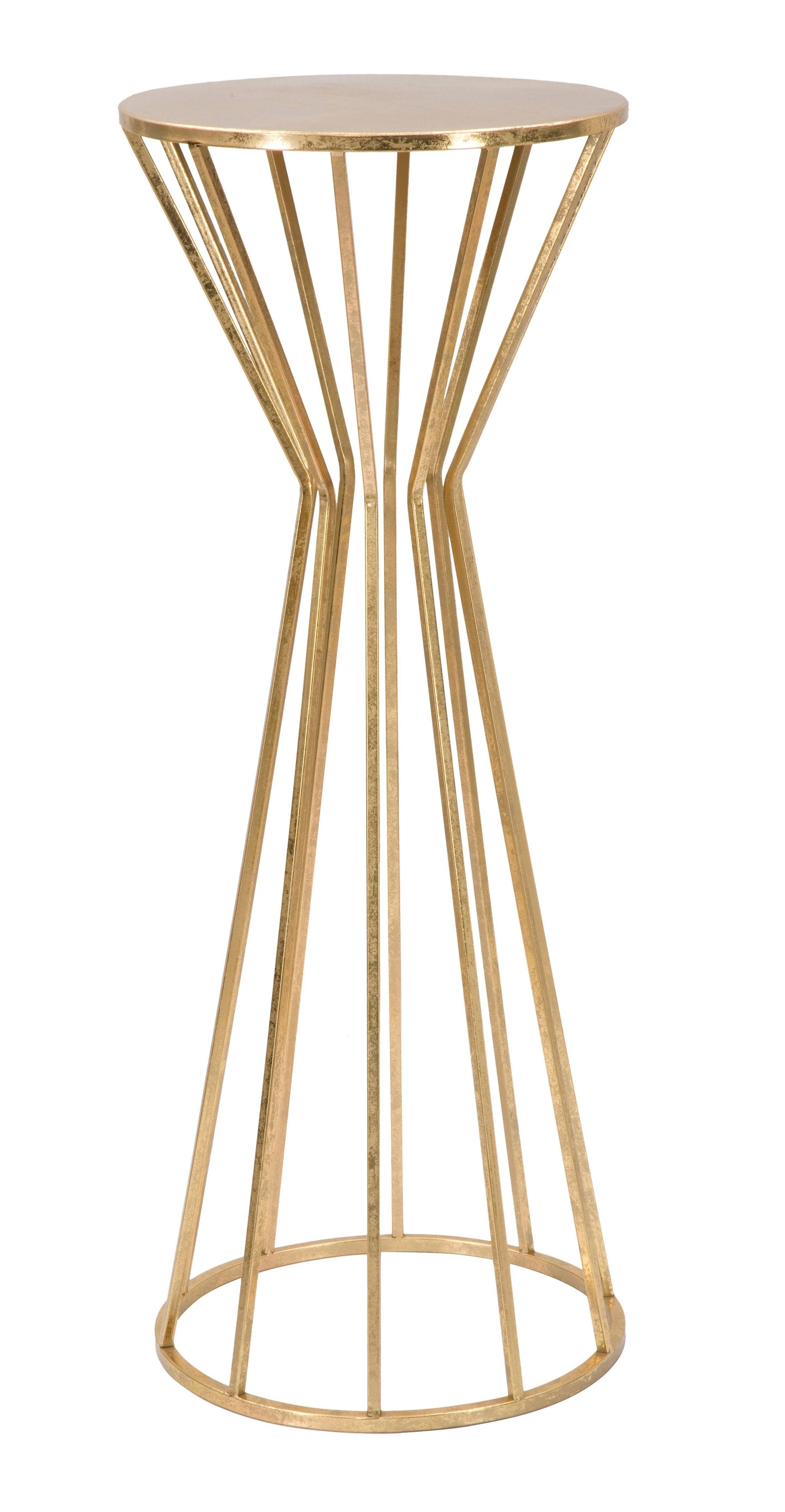 Masuta Suport Telefon Metal Stick Tall Auriu