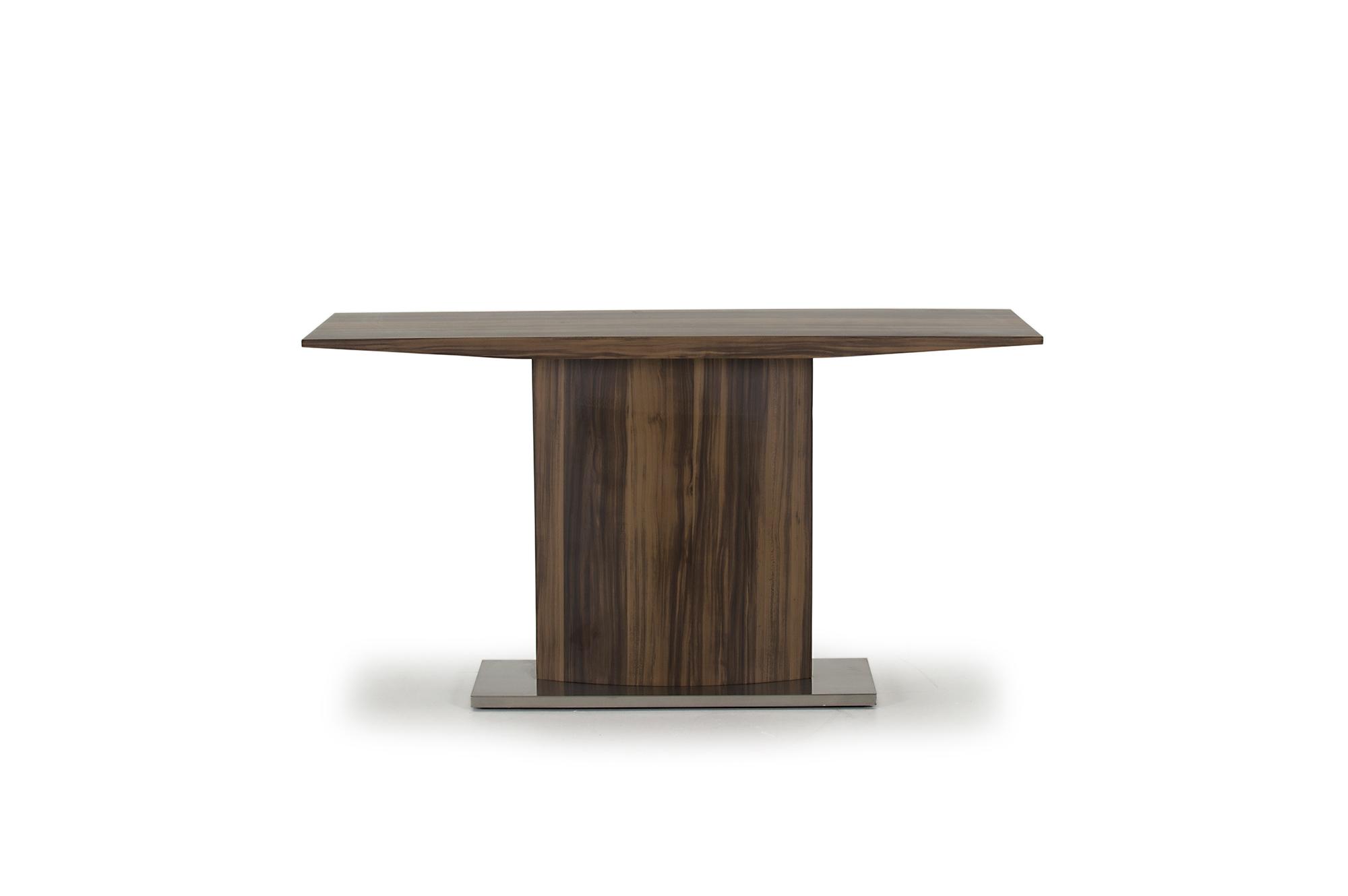 Consola din lemn prelucrat Messina Brown l140xA44xH75 cm