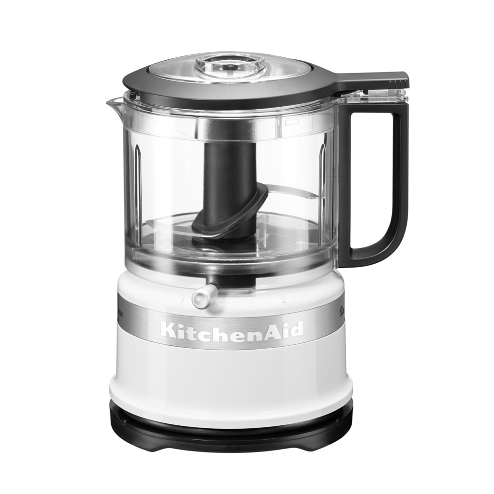 Mini Chopper Classic 5KFC3516EWH, 2 trepte de viteza, White, 830 ml, 240W, KitchenAid imagine