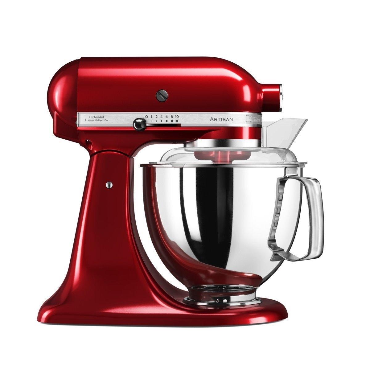 Mixer cu bol Artisan Elegance 5KSM175PSECA 48 L Candy Apple 300W KitchenAid