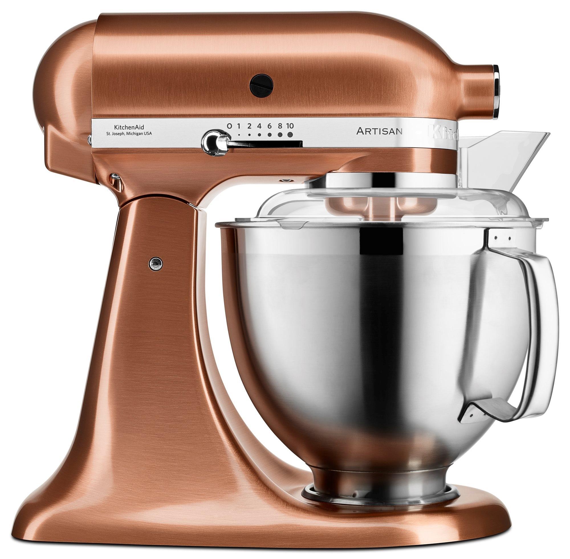 Mixer cu bol Artisan Elegance 5KSM175PSECP Copper 48 L 300W KitchenAid