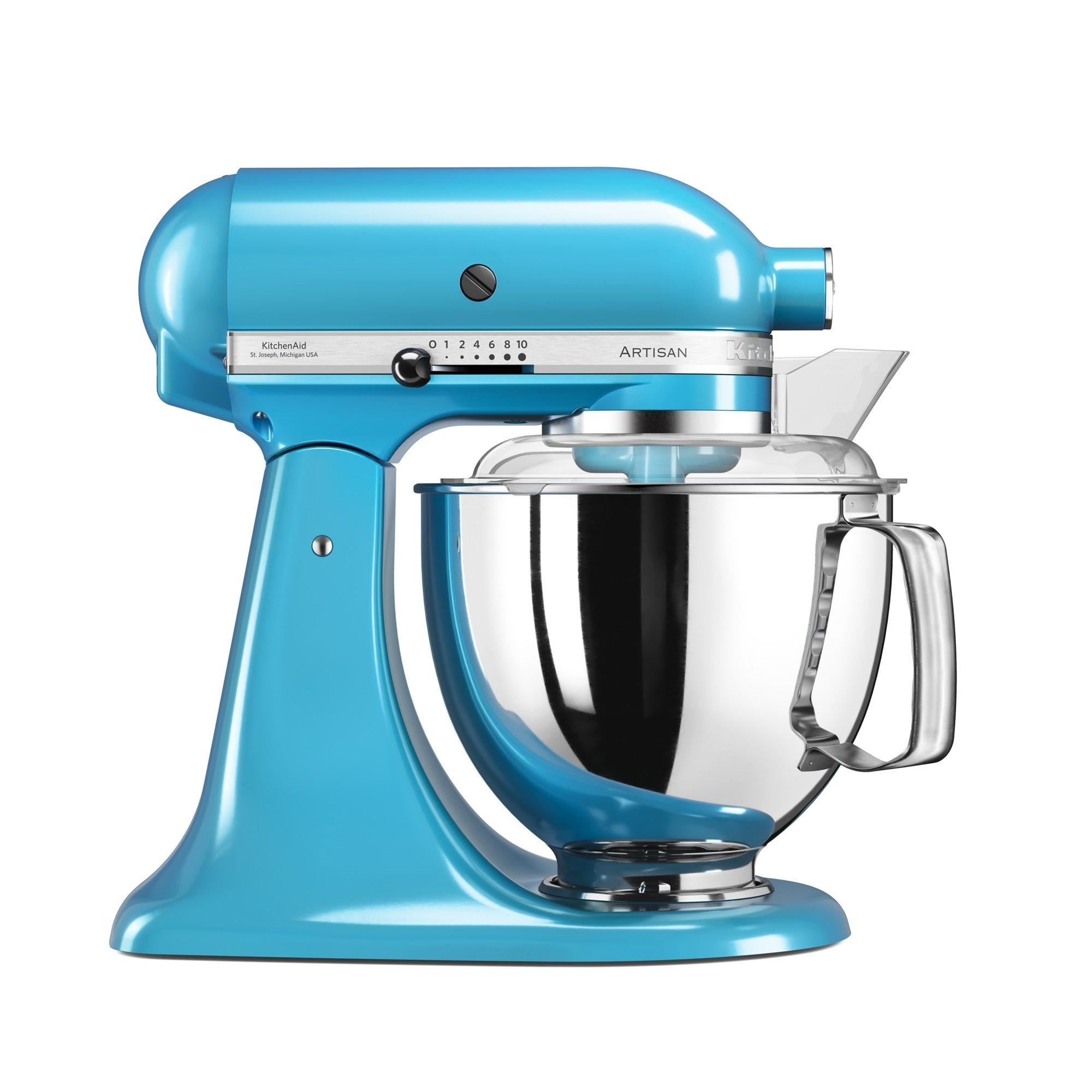 Mixer cu bol Artisan Elegance 5KSM175PSECL 48 L Crystal Blue 300W KitchenAid