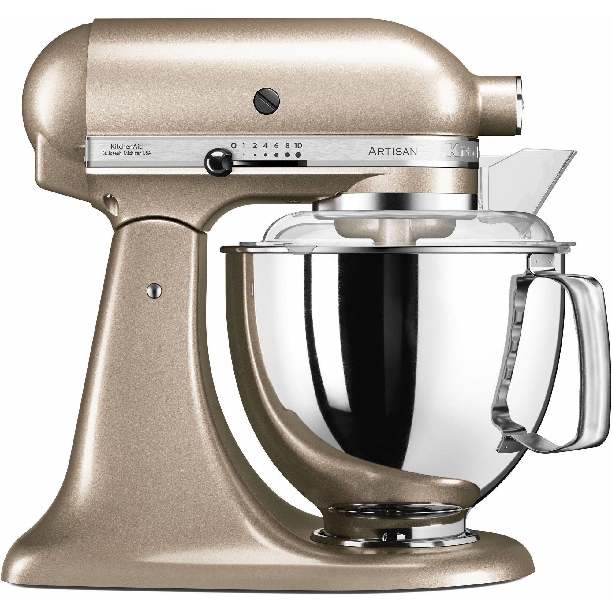 Mixer cu bol Artisan Elegance 5KSM175PSECZ 48 L Golden Nectar 300W KitchenAid