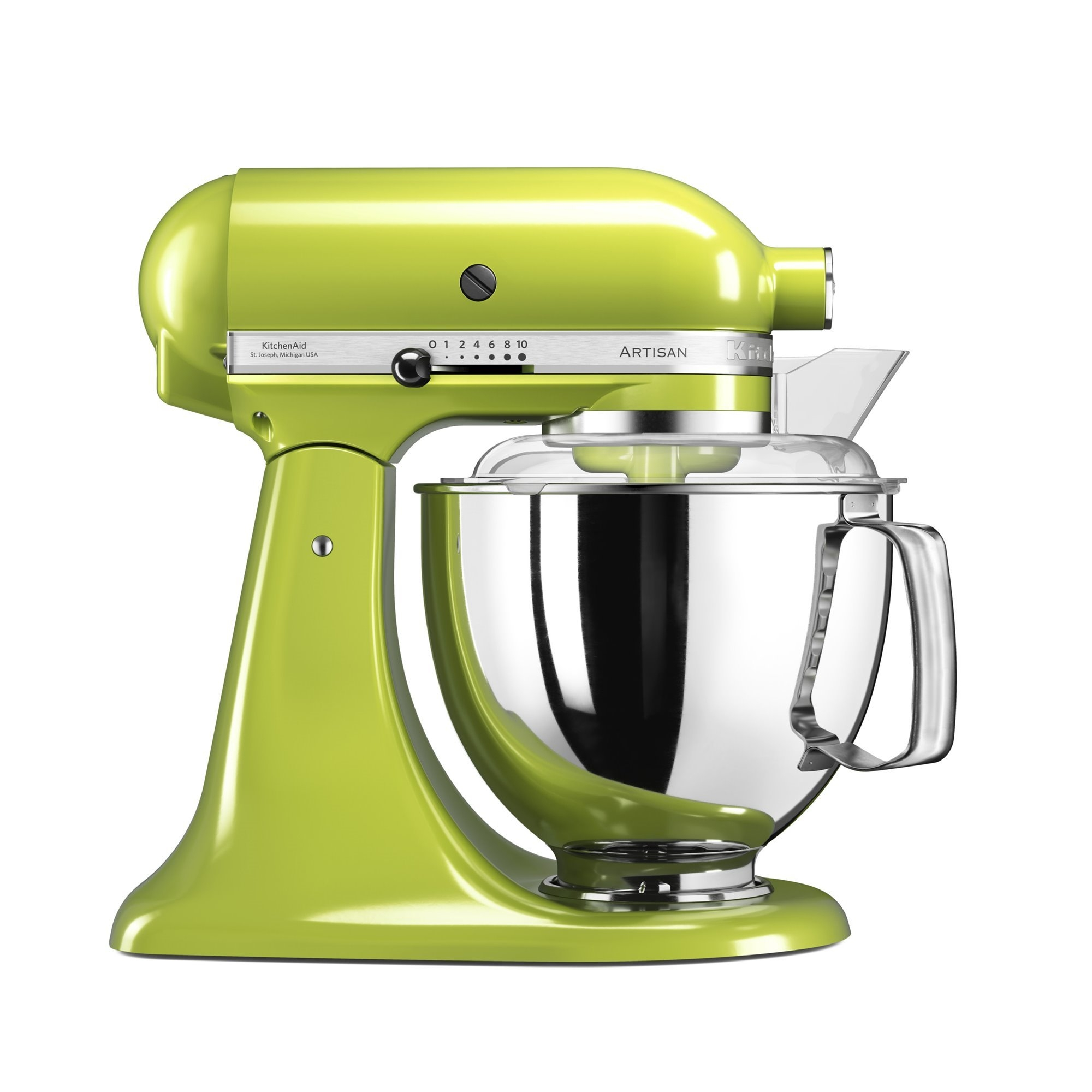 Mixer cu bol Artisan Elegance 5KSM175PSEGA 48 L Green Apple 300W KitchenAid