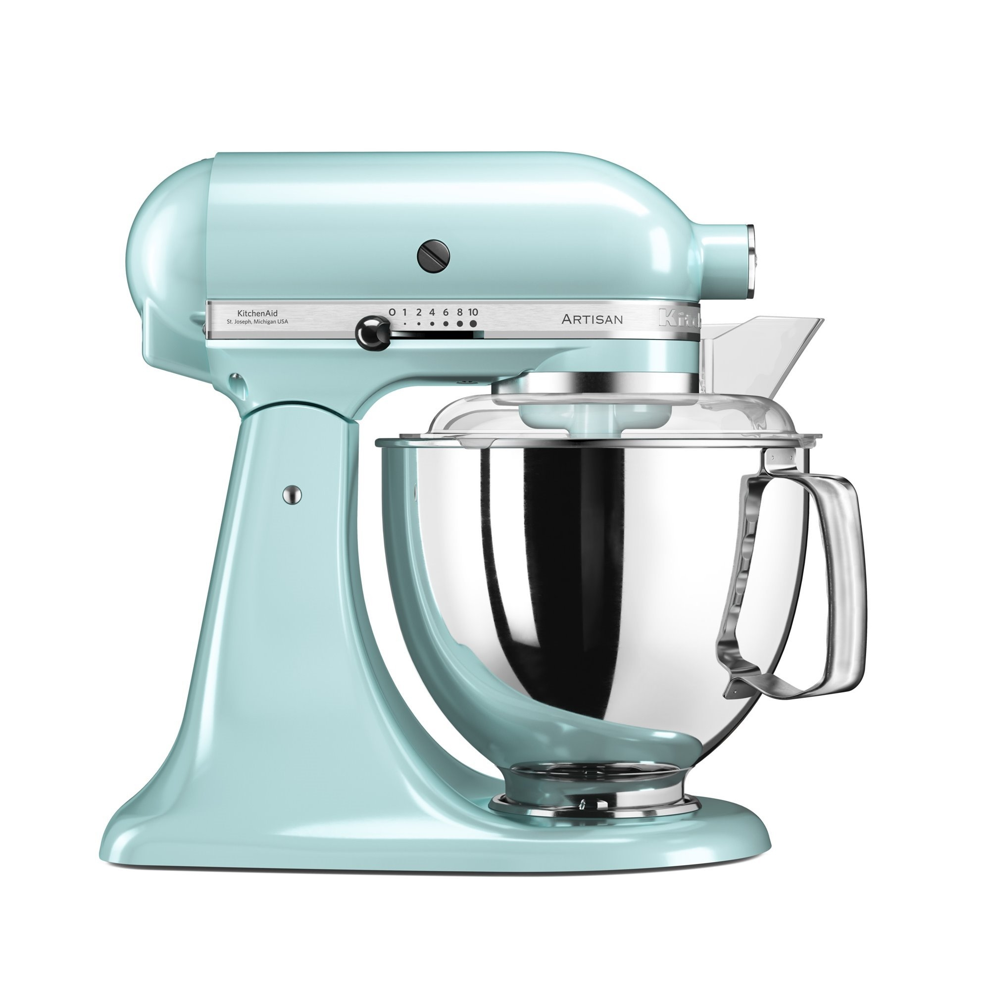 Mixer cu bol Artisan Elegance 5KSM175PSEIC 48 L Ice Blue 300W KitchenAid