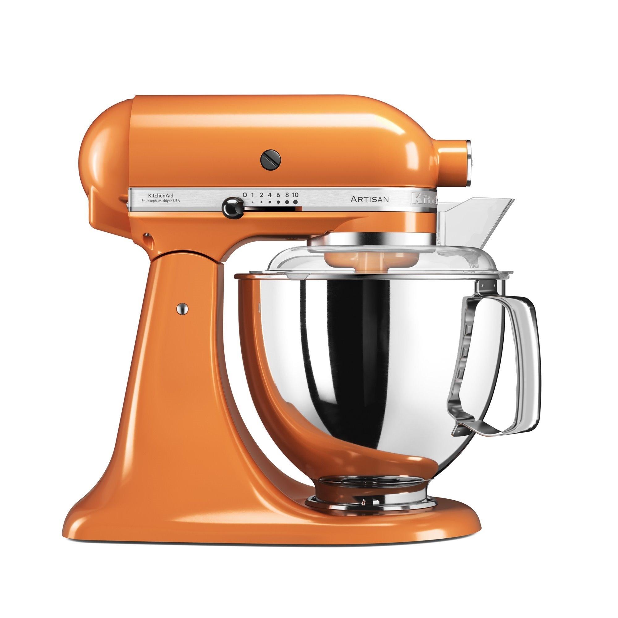 Mixer cu bol Artisan Elegance 5KSM175PSETG 48 L Tangerine 300W KitchenAid