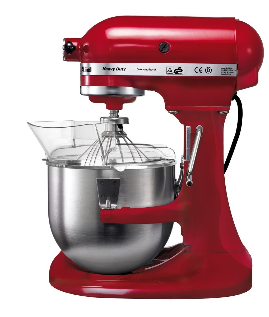 Mixer cu bol Heavy Duty 5KPM5E, 10 trepte de viteza, 4,8 L, 315W, KitchenAid imagine
