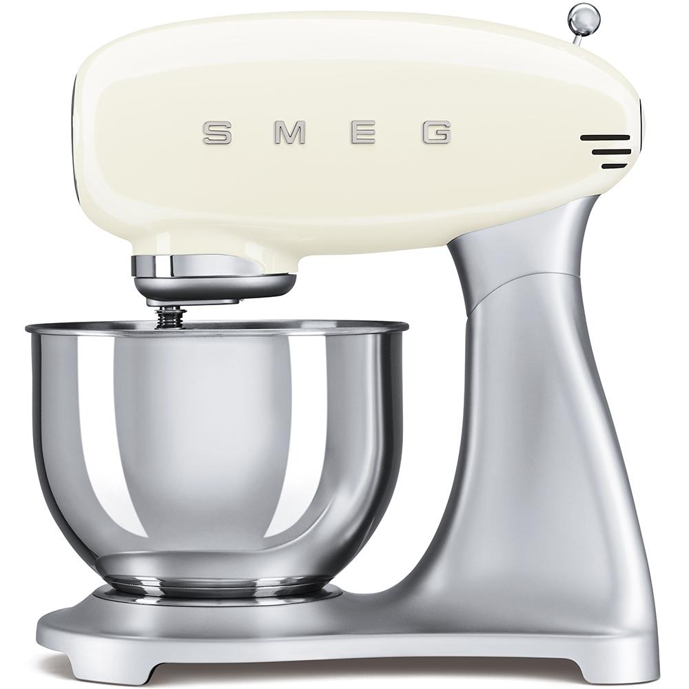 Mixer cu bol SMF01CREU Crem Retro 50 SMEG