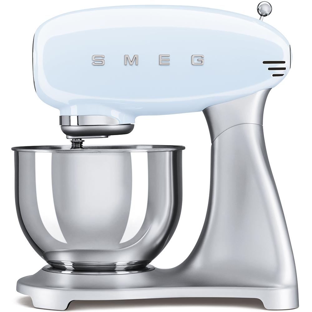 Mixer cu bol SMF01PBEU Albastru pastel Retro 50 SMEG