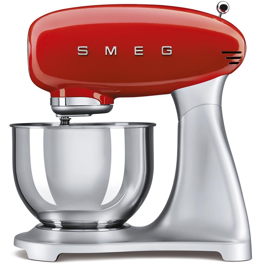 Mixer cu bol SMF01RDEU Rosu Retro 50 SMEG