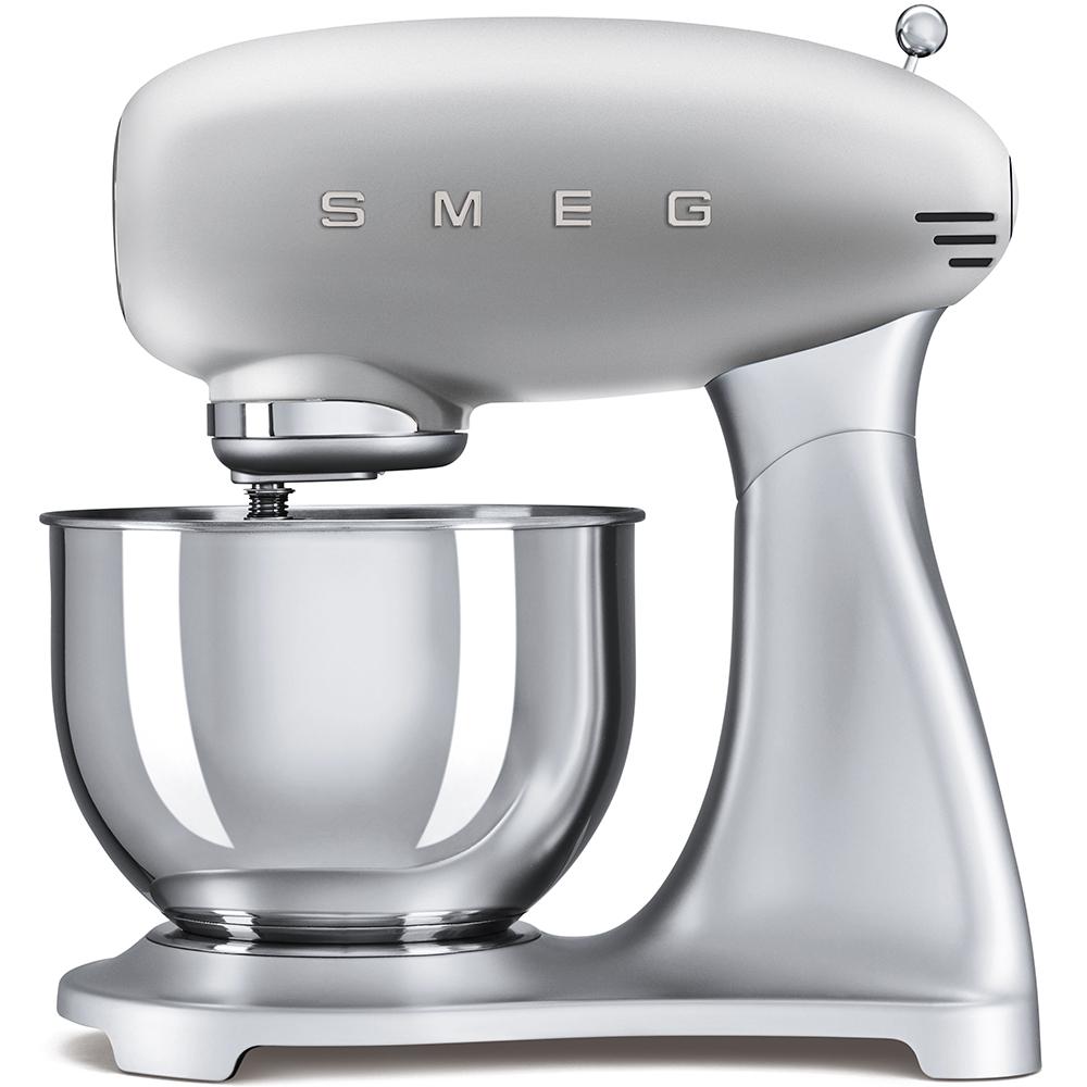 Mixer cu bol SMF01SVEU Argintiu Retro 50 SMEG