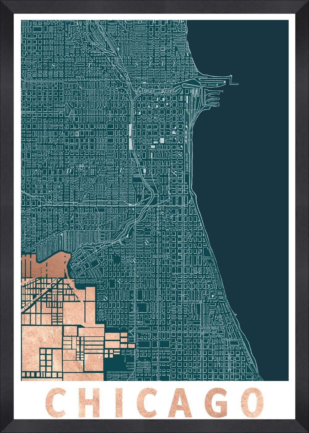 Tablou Framed Art Modern Chicago