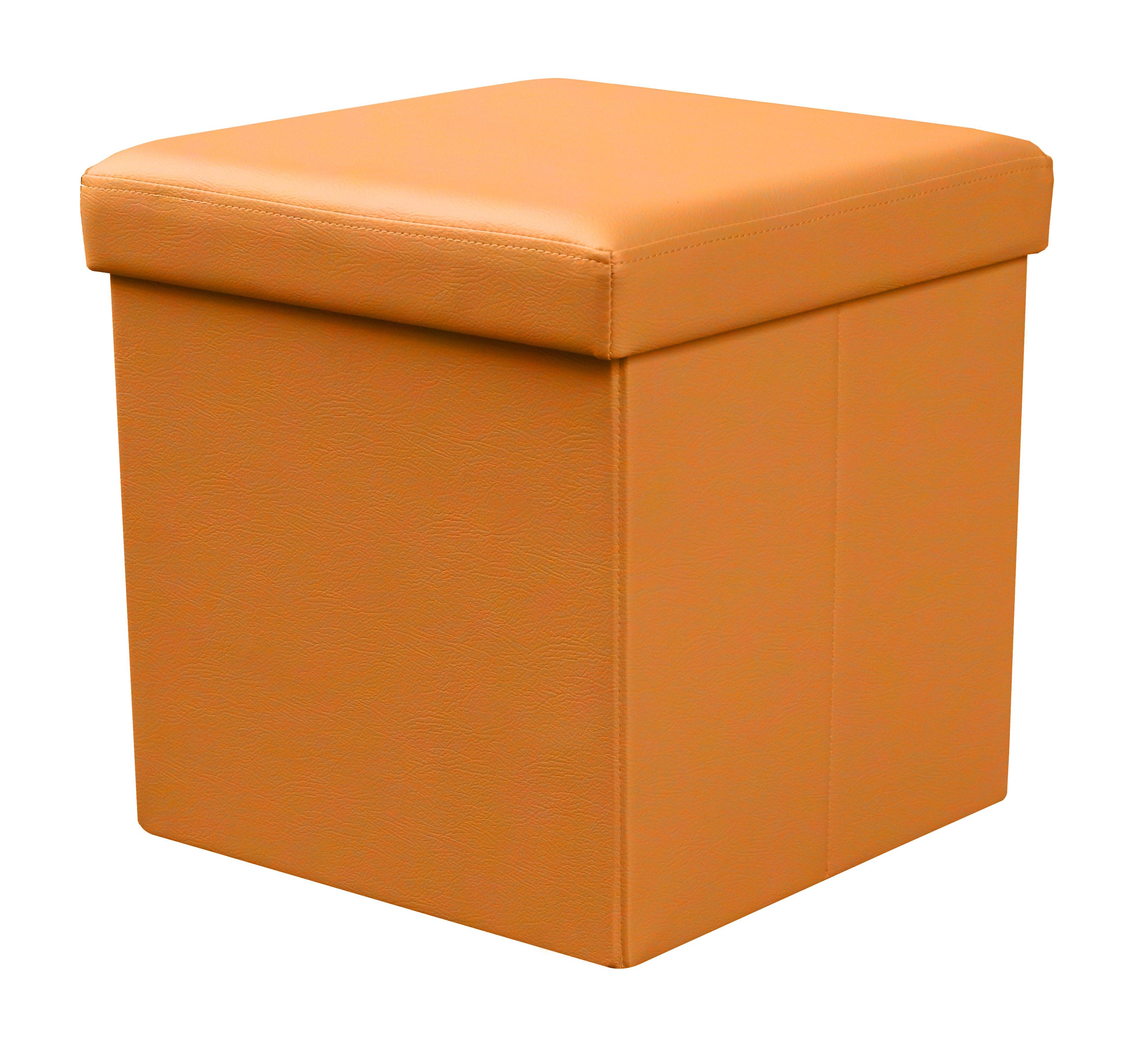 Taburet Moly portocaliu
