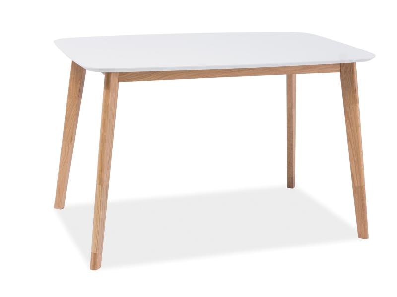 Masa din MDF si lemn Mosso I, L120xl75xh75 cm