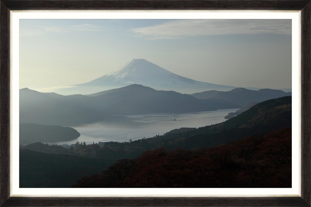 Tablou Framed Art Mount Fuji At Sunset