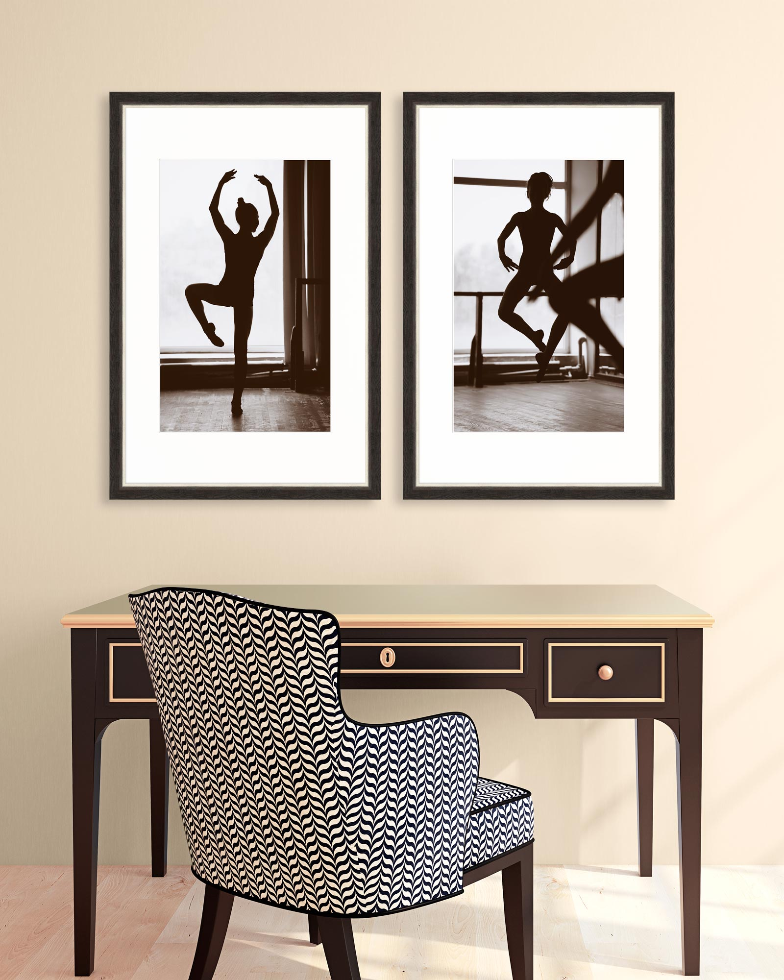 Tablou 2 piese Framed Art Movement