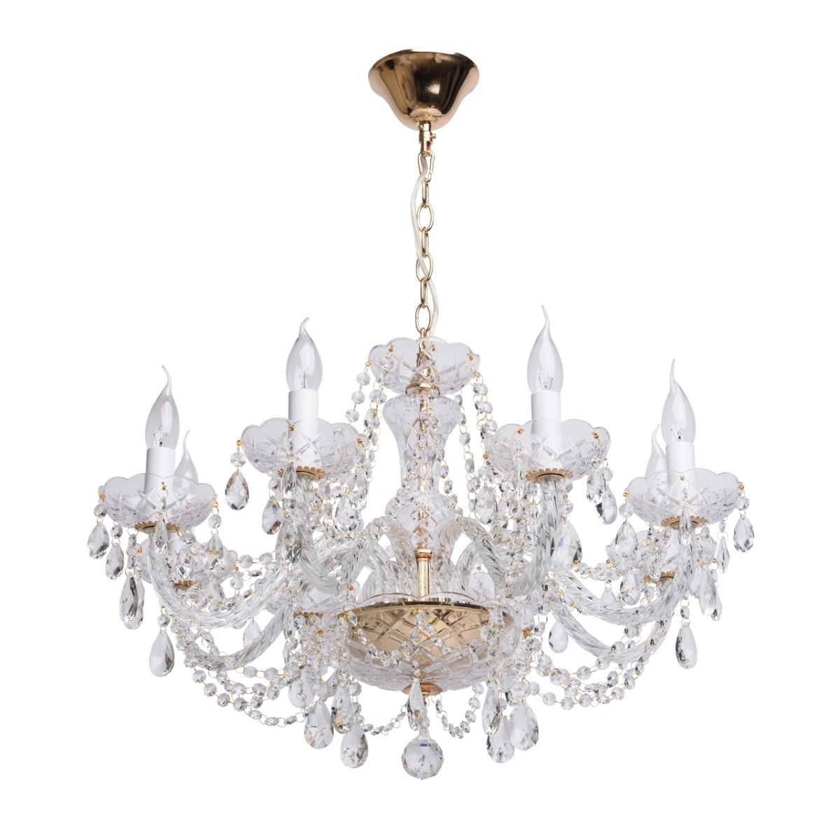 Candelabru MW-Light Crystal 367012708 imagine