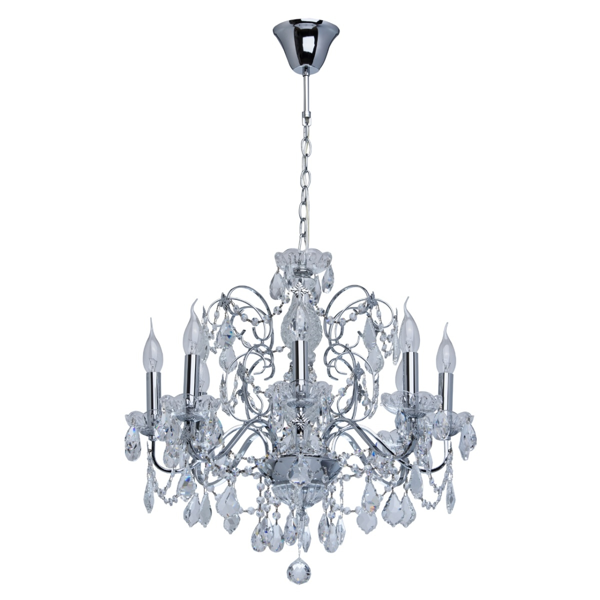 Candelabru MW-Light Crystal 367013408 imagine