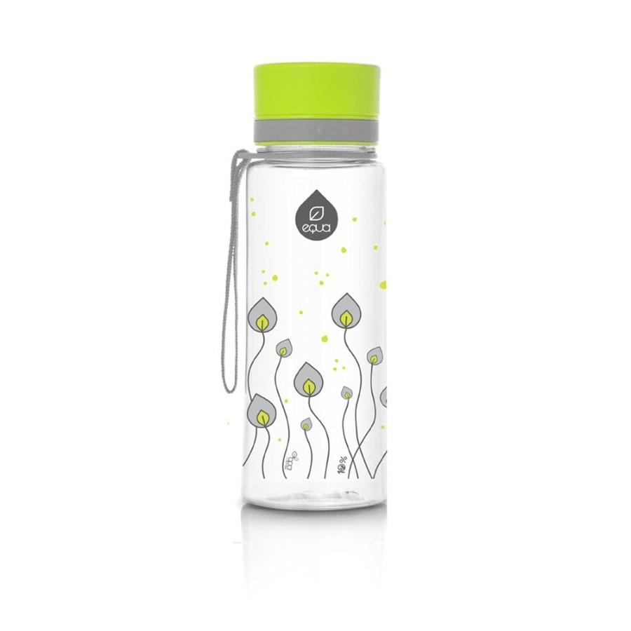 Sticla pentru apa Equa Green Leaves- 600 ml imagine