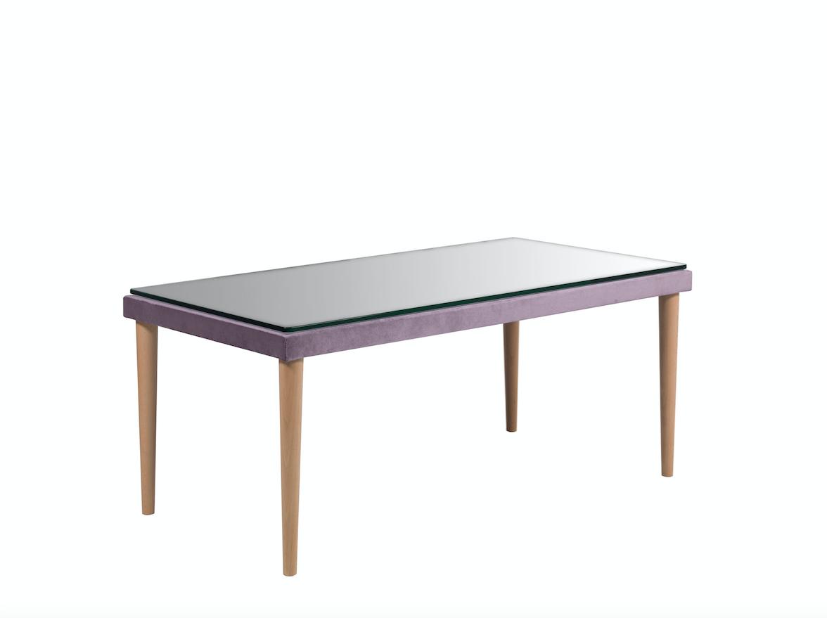 Masa de cafea Nicea Purple, L110xl60xh52 cm