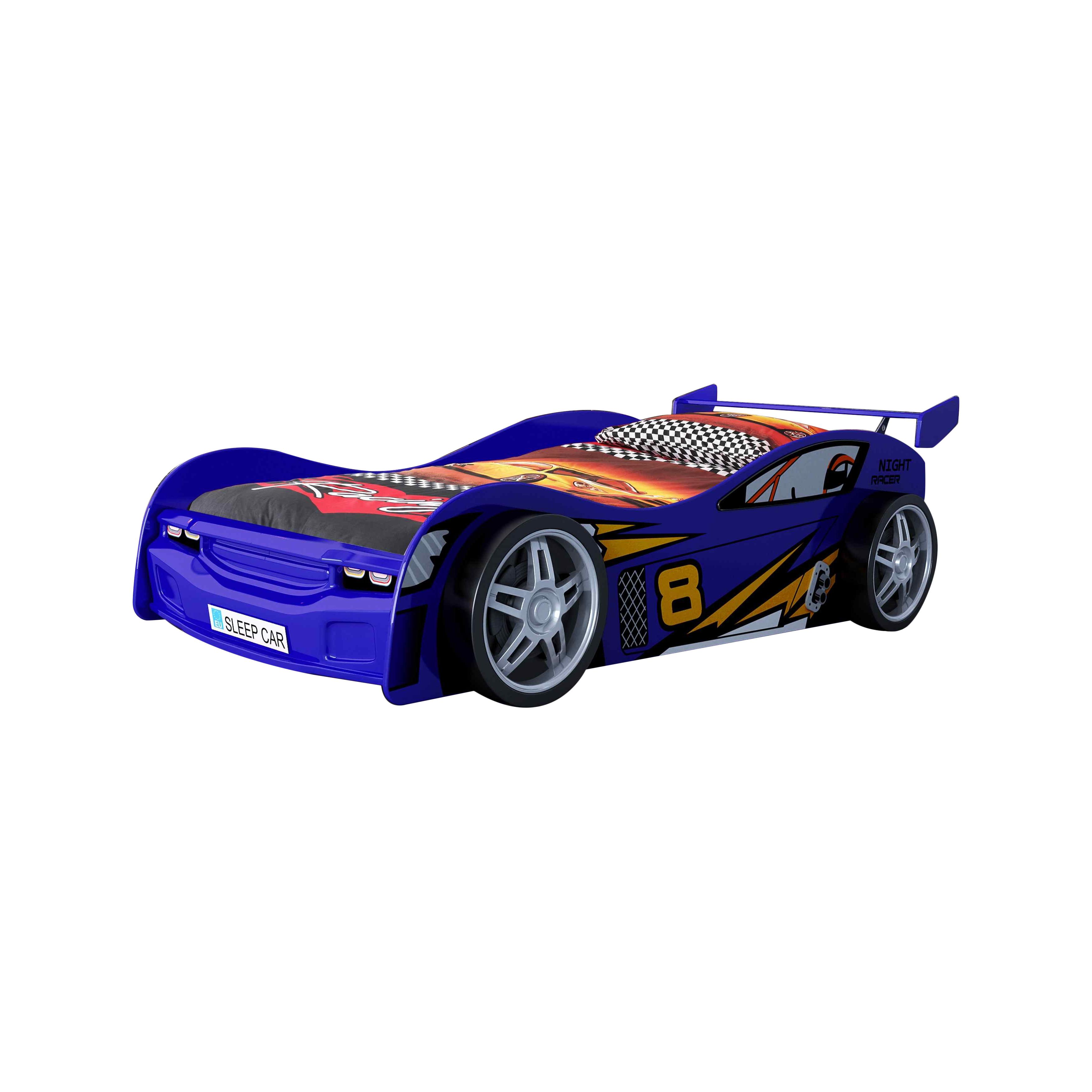 Pat pentru copii Night Racer Blue