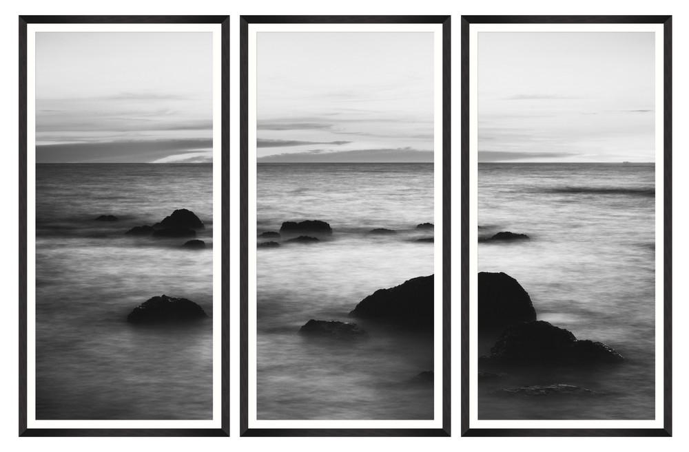 Tablou 3 piese Framed Art Night Silence imagine