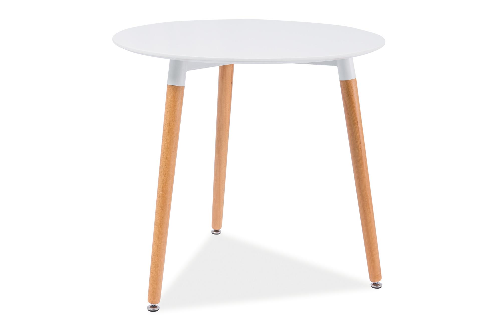 Masa din lemn si MDF Nolan III, Ø80xh75 cm