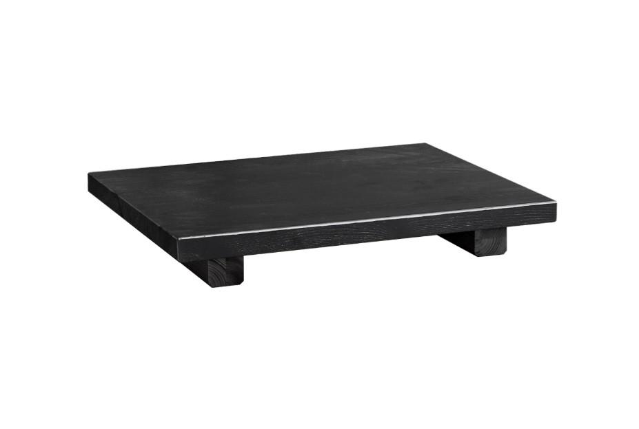 Noptiera din lemn de pin Dock Black l45xA34xH5 cm