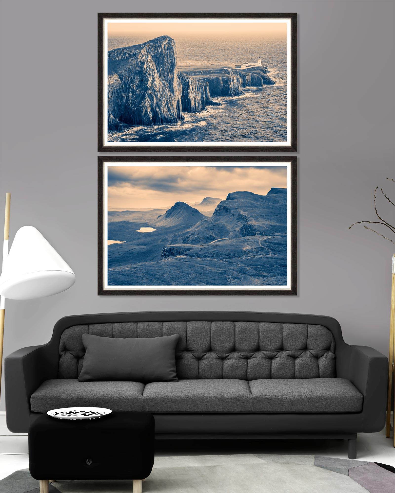 Tablou 2 piese Framed Art Nordic Scenery imagine