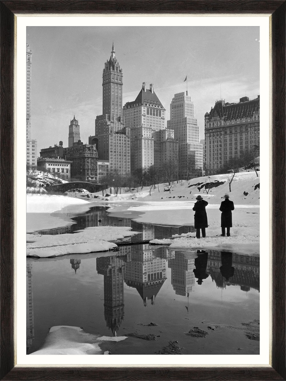 Tablou Framed Art NY Central Park imagine
