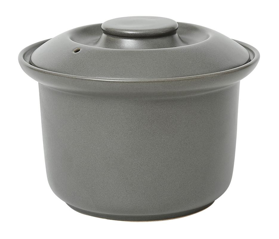 Oala cu capac pentru gatit orez Granite Grey, ∅ 19 cm, Jamie Oliver