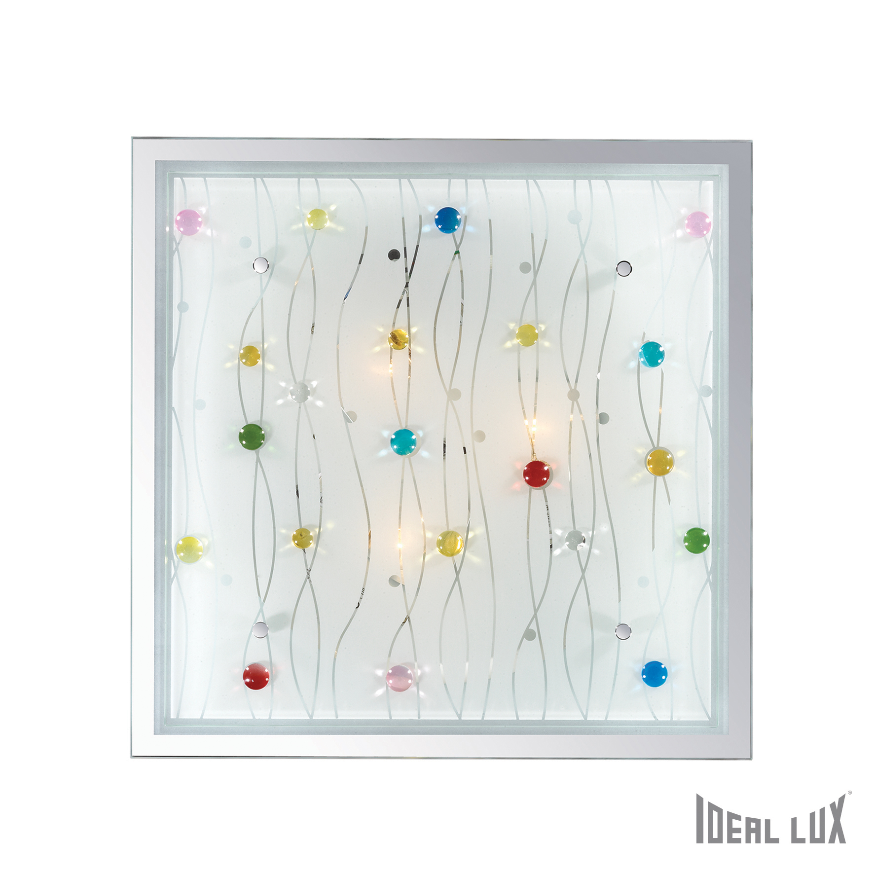 Plafoniera Ocean PL3-Multicolor