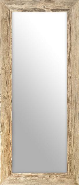 Oglinda Reclaimed Wood Mirror Medium poza