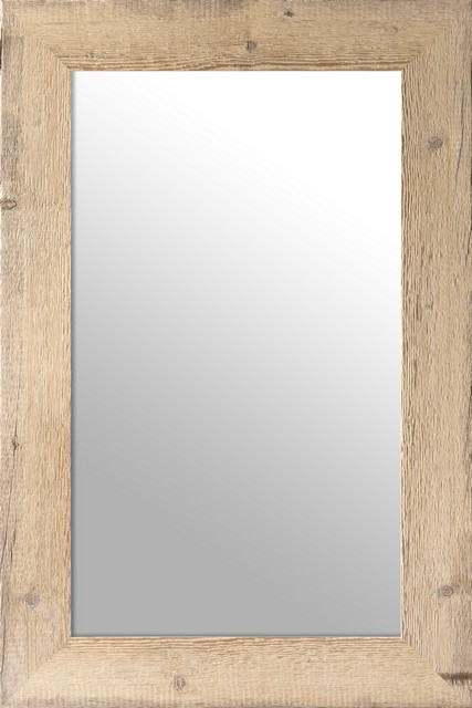Oglinda Reclaimed Wood Mirror Medium