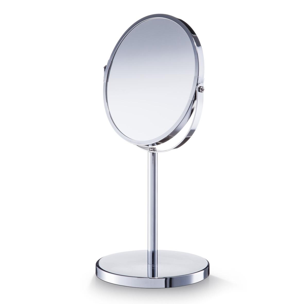 Oglinda cosmetica de masa, Metal Cromat, Ø 15xH35 cm somproduct.ro