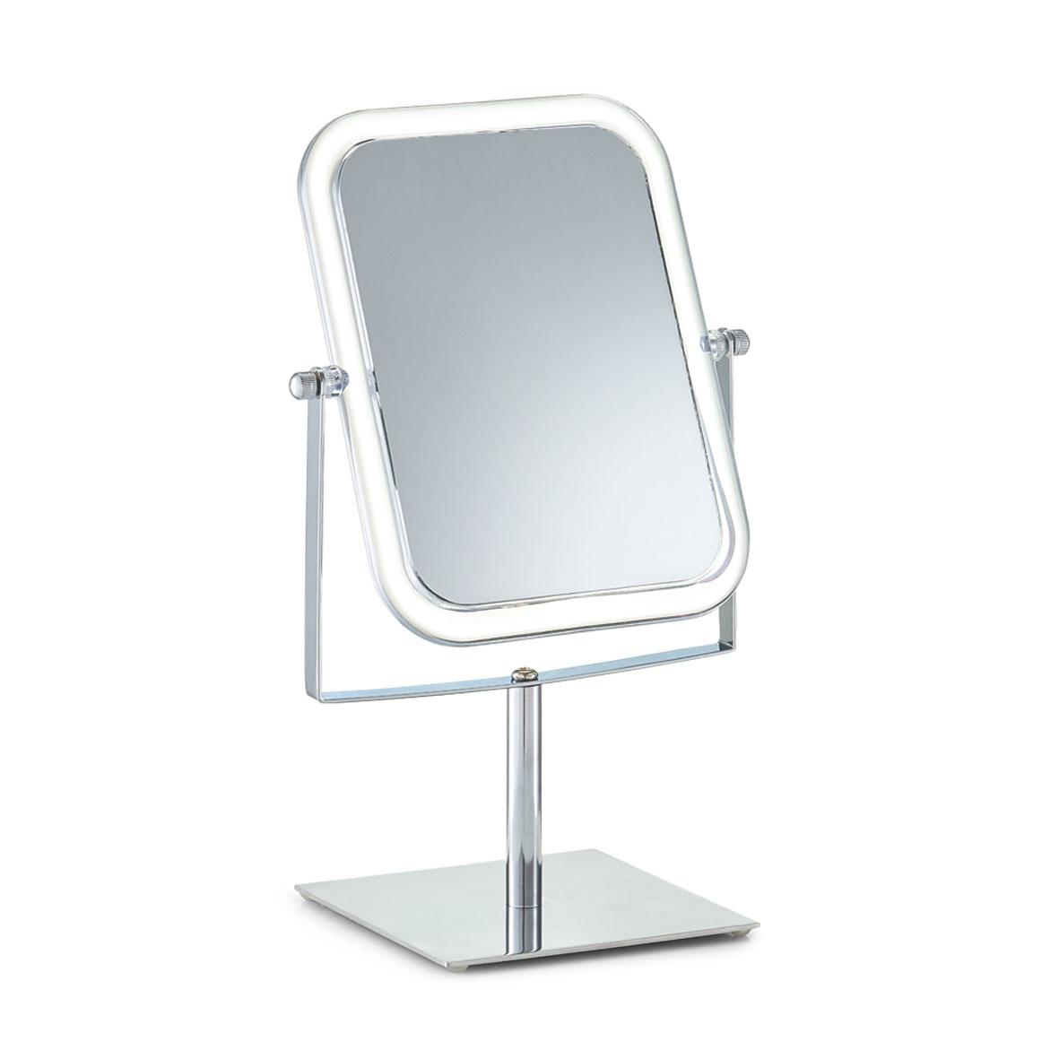 Oglinda cosmetica de masa Metal Cromat l185xA125xH30 cm