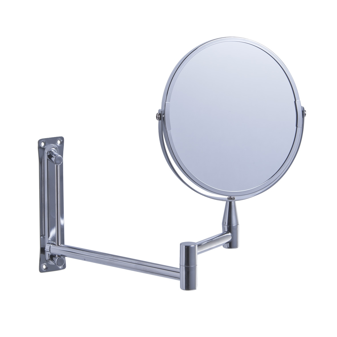 Oglinda cosmetica de perete extensibila Metal Cromat O 17xl215/315xH325 cm