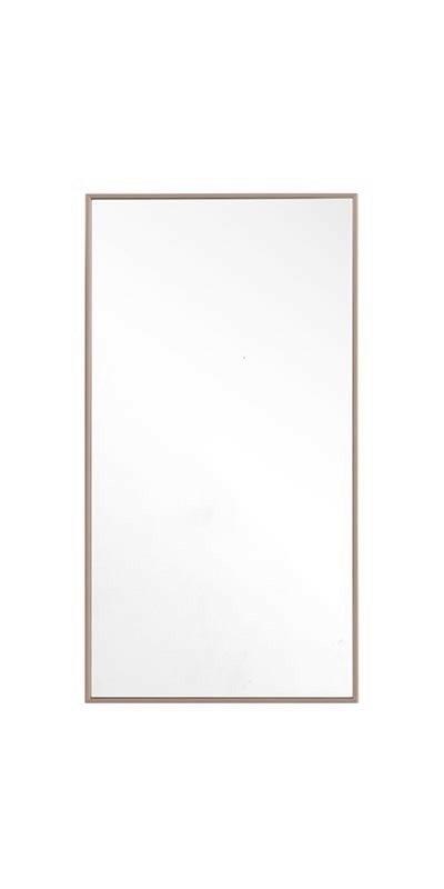 Oglinda decorativa cu rama din pal Gold Nuc, L40,6xl75,6 cm