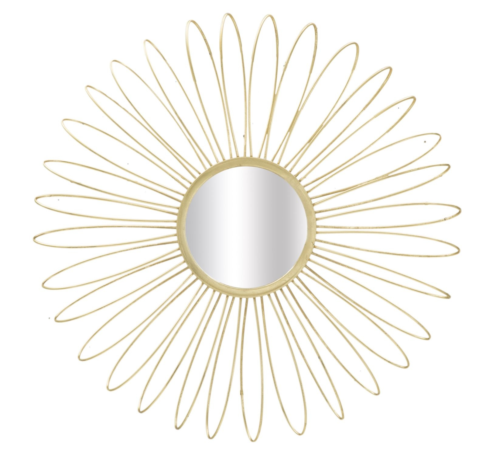 Oglinda decorativa Daisy, Ø 92 cm