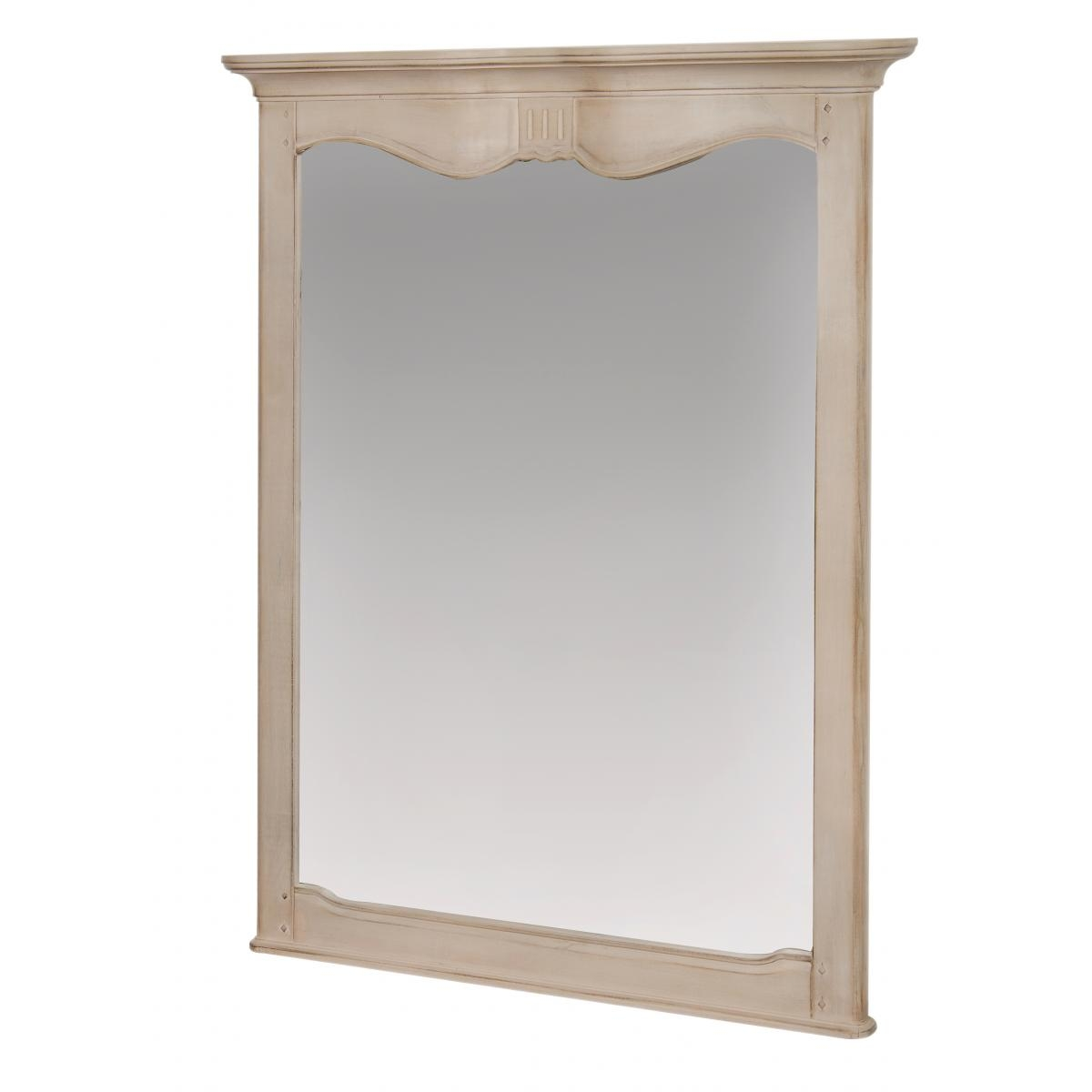 Oglinda decorativa din lemn de mesteacan Venezia VE816K