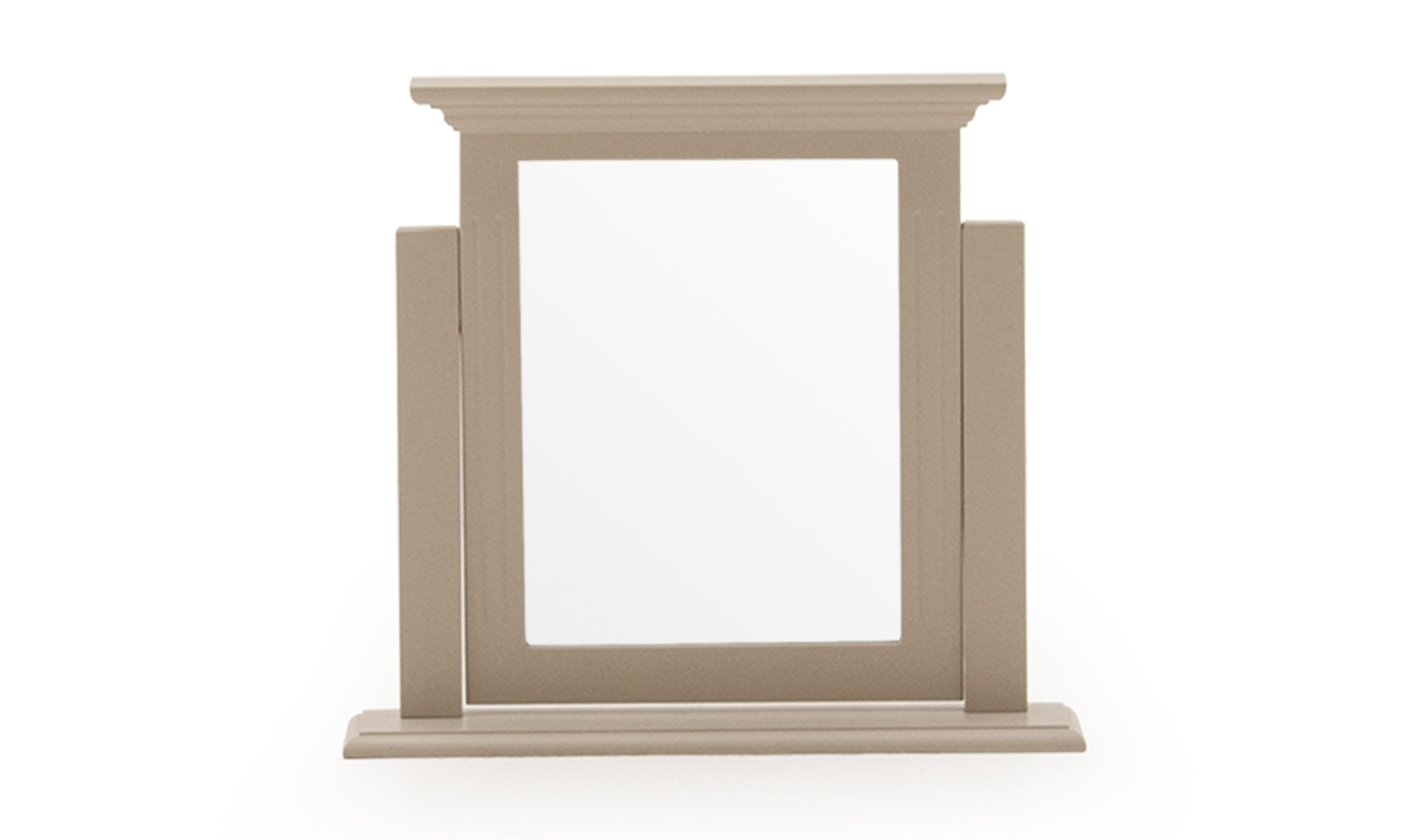 Oglinda Decorativa Lemn Pin Mdf Deauville Taupe Imagine