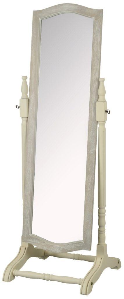 Oglinda decorativa din lemn de plop si MDF Pesaro PE025