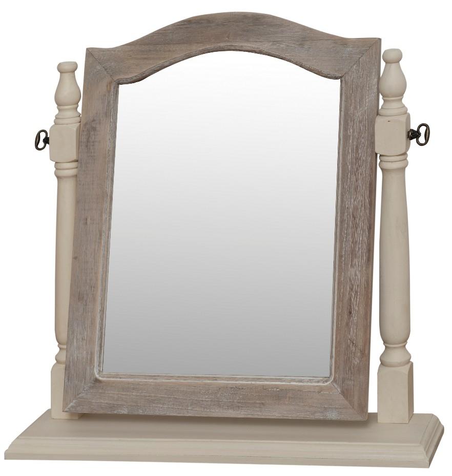 Oglinda decorativa din lemn de plop si MDF Pesaro PE050