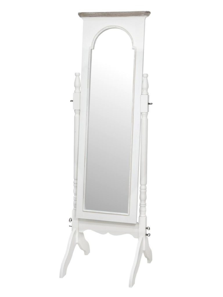 Oglinda decorativa din lemn de plop si MDF, Ravenna RA025 imagine