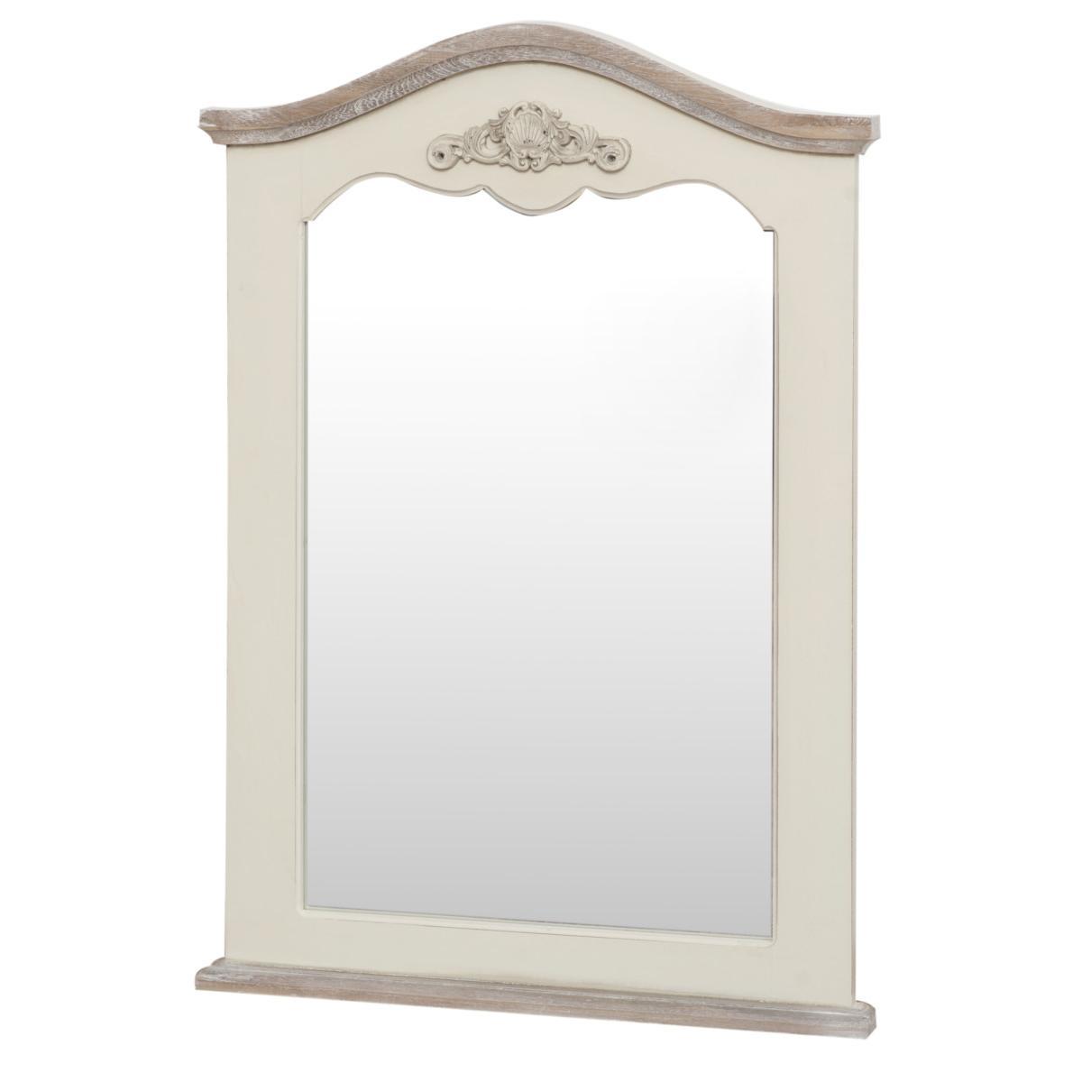 Oglinda decorativa din lemn de plop si MDF Rimini RI053